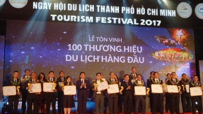 Top 100 tourism brands in Ho Chi Minh City honoured
