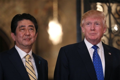 Trump to host Japan's Abe on trade ties, Korean Peninsula