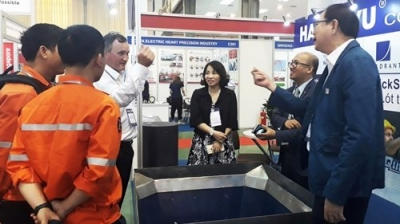 Hanoi exhibition showcases latest solutions in mining industry
