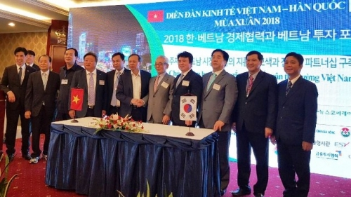 Business forum boosts Korean investment in Vietnam