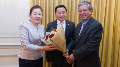 Vietnam's Ambassador to US sends regards on Lao traditional New Year