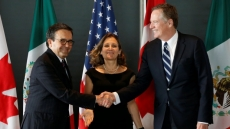 Canada, Mexico laud NAFTA progress, ministers to reconvene on April 24