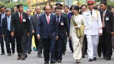 Myanmar State Counsellor concludes Vietnam visit
