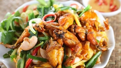 Mouth-watering local specialties made of frogs in Bac Giang province