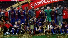 Barcelona thrash Sevilla to win King's Cup again