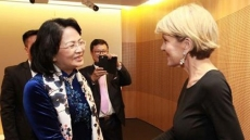 Vice President receives Australian foreign minister in Sydney