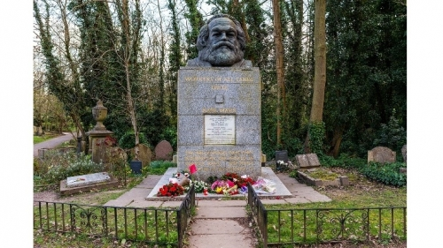 Visiting Karl Marx at Highgate Cemetery in British capital