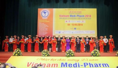 Vietnam Medi-Pharm 2018 attracts 430 firms from 30 countries