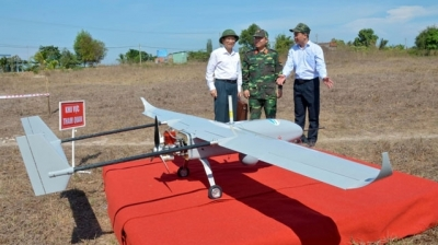Viettel tests forest surveillance drone