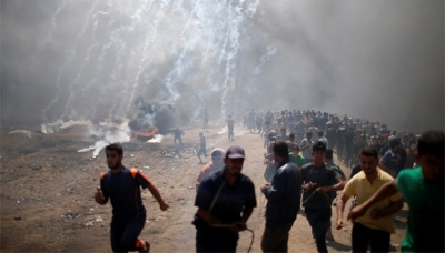 Israel's use of force against Palestinian protesters, an unjustifiable action