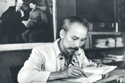 President Ho Chi Minh - the great leader who wholeheartedly devoted himself to the country and the happiness of the people