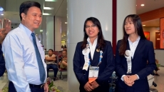 Intel ISEF 2018: Vietnamese students' antibiotic research wins third award