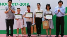 28 Hanoi students honoured as 'Ambassadors of Reading Culture'