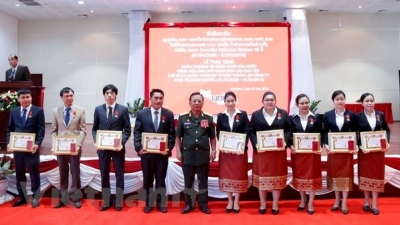 Unitel receives Lao Labour Order on 10th founding anniversary