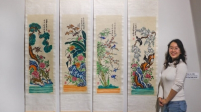 Designer Trinh Thu Trang: Stimulating a revival of public interest in Hang Trong folk painting