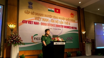 Hanoi hosts 4th meeting of Vietnam-India defence industry businesses