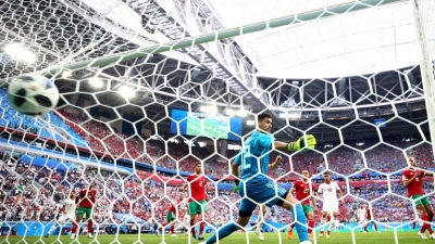 Iran stun Morocco with stoppage-time own goal