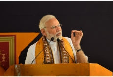 Indian PM lays stress on gov't vision of