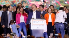 Congratulations sent to newly-elected Colombian president