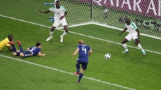 Honda salvages 2-2 draw for Japan against Senegal with late strike