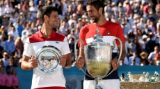 Cilic beats Djokovic in final for Queen's club trophy