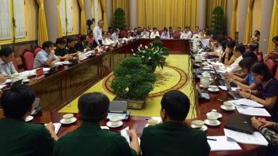 Presidential Office announces order to promulgate seven laws