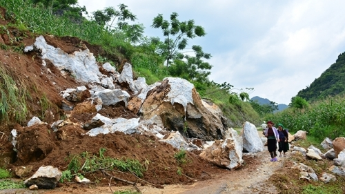 Lung Tam ravaged after heavy flooding