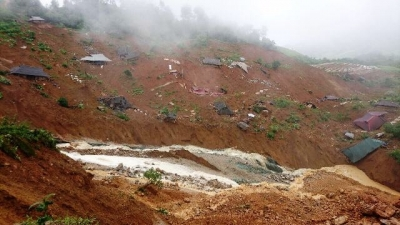 June 25-July 1: Floods cause serious damage to northern mountainous provinces