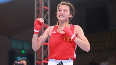 Vietnamese boxer wins gold at Kapolri Cup