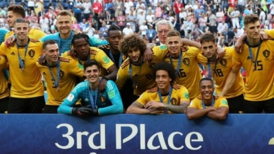 Belgium overpower tired England to secure third place