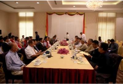 Myanmar armed groups vow to continue peace meetings with gov't
