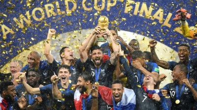 Russia 2018: Memorable moments during World Cup Final