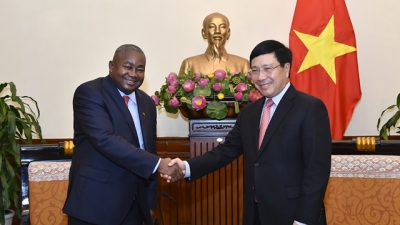 Deputy PM welcomes new Mozambican ambassador
