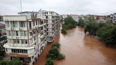 Sympathies sent to China over flood consequences
