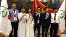 Vietnamese students win three golds at 2018 International Biology Olympiad