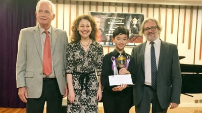 Vietnamese student wins first prize at Mozart International Piano Contest