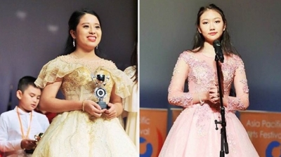 Vietnamese students win prizes at Asia Pacific Arts Festival