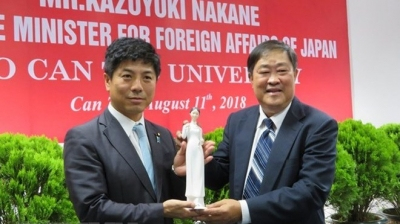 Japan commits to supporting Can Tho University