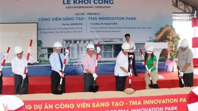 Construction of Vietnam's first creative park starts in Binh Dinh