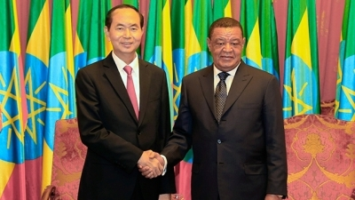 August 20-26: President Tran Dai Quang pays State visits to Ethiopia and Egypt