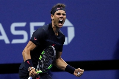 Nadal survives Russian threat to advance at US Open