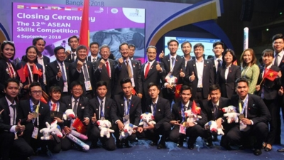 Vietnam wins seven gold medals at ASEAN Skills Competition