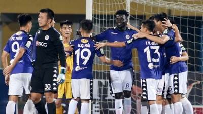 Hanoi crowned champions of 2018 V-League