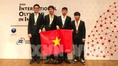 Vietnamese students win four medals at International Olympiad in Informatics