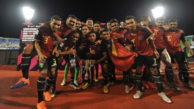 Timor Leste join nine other teams at 2018 AFF Championship
