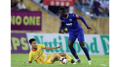 Nam Dinh win valuable away point against Thanh Hoa