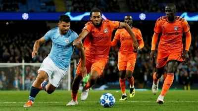 Man City suffer surprise home loss to Lyon