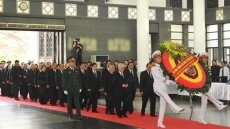 State funeral for President Tran Dai Quang begins