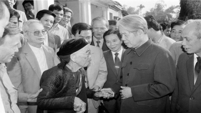 Former Party leader Do Muoi in the memory of Vietnamese people
