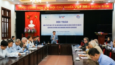 Vietnam's economic growth forecast at 6.88% for the whole year: CIEM